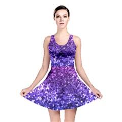 Midnight Glitter Reversible Skater Dresses