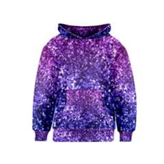 Midnight Glitter Kid s Pullover Hoodies
