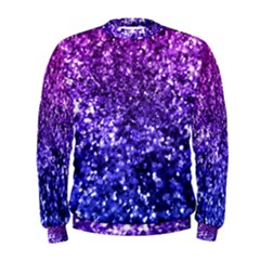 Midnight Glitter Men s Sweatshirts