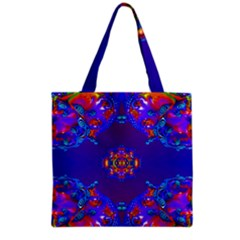 Abstract 2 Grocery Tote Bags