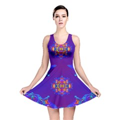 Abstract 2 Reversible Skater Dresses