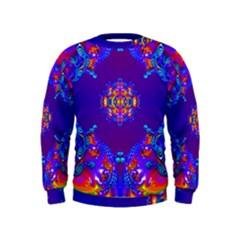 Abstract 2 Boys  Sweatshirts