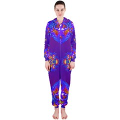 Abstract 2 Hooded Jumpsuit (Ladies)