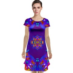 Abstract 2 Cap Sleeve Nightdresses