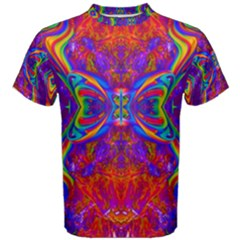 Butterfly Abstract Men s Cotton Tee