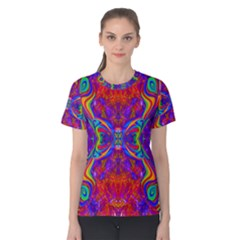 Butterfly Abstract Women s Cotton Tee