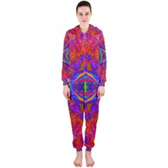 Butterfly Abstract Hooded Jumpsuit (Ladies)