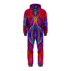 Butterfly Abstract Hooded Jumpsuit (Kids)
