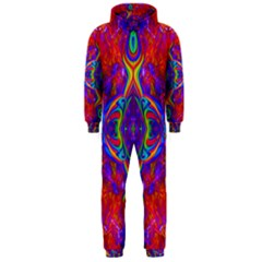 Butterfly Abstract Hooded Jumpsuit (Men)
