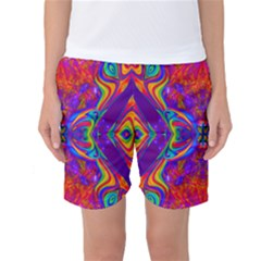 Butterfly Abstract Women s Basketball Shorts