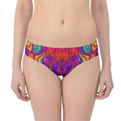 Butterfly Abstract Hipster Bikini Bottoms