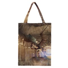 The Dragon Classic Tote Bags