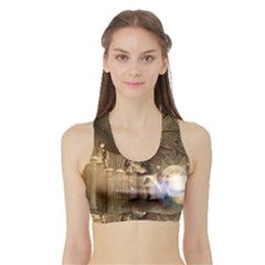 The Dragon Women s Sports Bra with Border