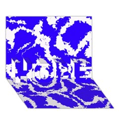 Migraine Blue HOPE 3D Greeting Card (7x5)