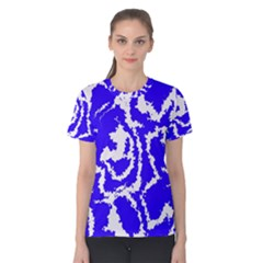 Migraine Blue Women s Cotton Tees