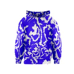 Migraine Blue Kids Zipper Hoodies