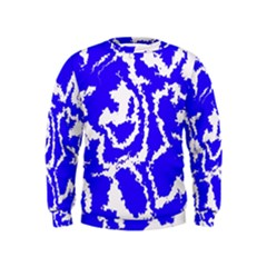 Migraine Blue Boys  Sweatshirts