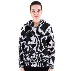 Migraine Bw Women s Zipper Hoodies