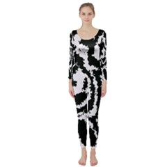 Migraine Bw Long Sleeve Catsuit