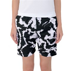 Migraine Bw Women s Basketball Shorts