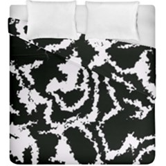 Migraine Bw Duvet Cover (king Size)