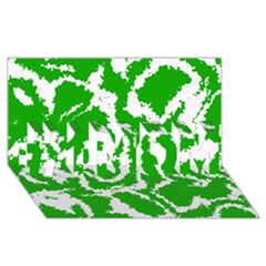Migraine Green #1 MOM 3D Greeting Cards (8x4)