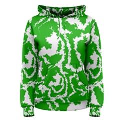 Migraine Green Women s Pullover Hoodies