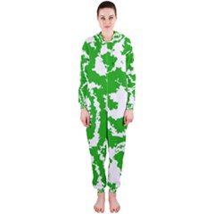 Migraine Green Hooded Jumpsuit (Ladies)