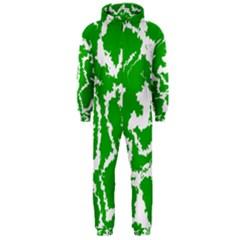Migraine Green Hooded Jumpsuit (men)