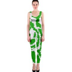 Migraine Green OnePiece Catsuits