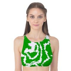Migraine Green Tank Bikini Top