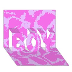 Migraine Pink BOY 3D Greeting Card (7x5)