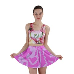 Migraine Pink Mini Skirts