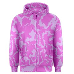 Migraine Pink Men s Zipper Hoodies