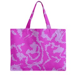 Migraine Pink Zipper Tiny Tote Bags
