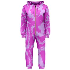 Migraine Pink Hooded Jumpsuit (Ladies)