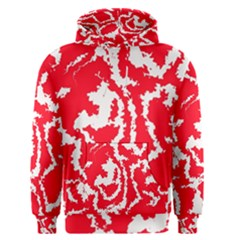 Migraine Red White Men s Pullover Hoodies