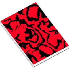 Migraine Red Large Memo Pads