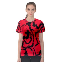Migraine Red Women s Sport Mesh Tees