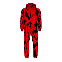Migraine Red Hooded Jumpsuit (Kids)
