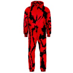 Migraine Red Hooded Jumpsuit (men)
