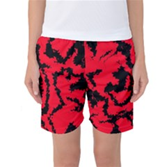 Migraine Red Women s Basketball Shorts