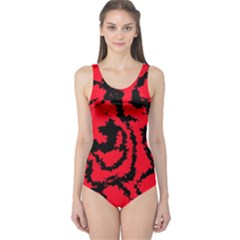 Migraine Red Women s One Piece Swimsuits