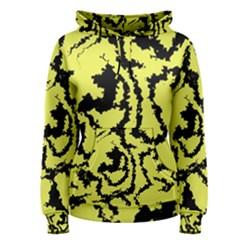 Migraine Yellow Women s Pullover Hoodies