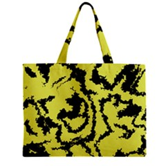 Migraine Yellow Zipper Tiny Tote Bags