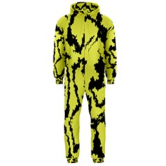 Migraine Yellow Hooded Jumpsuit (Men)
