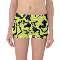 Migraine Yellow Boyleg Bikini Bottoms