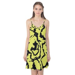 Migraine Yellow Camis Nightgown