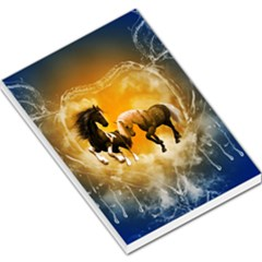 Wonderful Horses Large Memo Pads