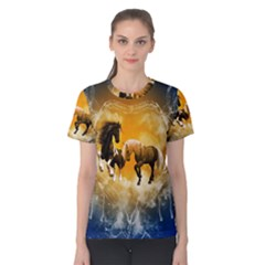 Wonderful Horses Women s Cotton Tees